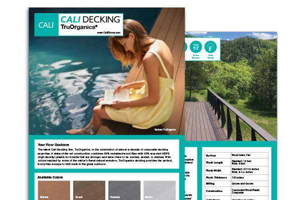 Decking Spec Sheet