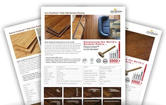 Flooring Spec Sheet