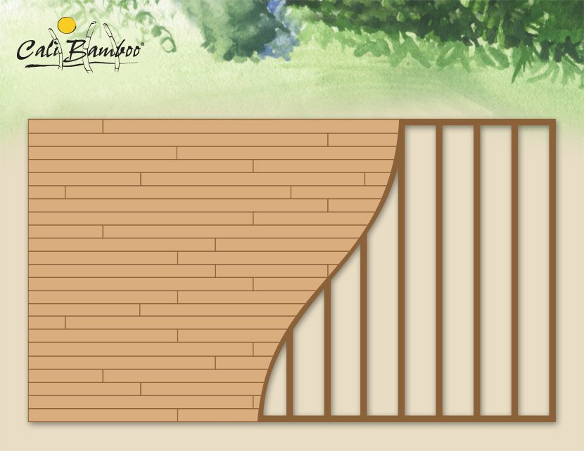 Deck designs cali bamboo greenshoots