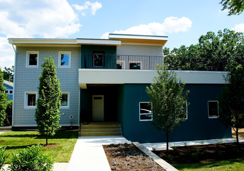 An Aggressively Passive House