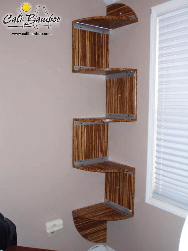 Bamboo book shelf