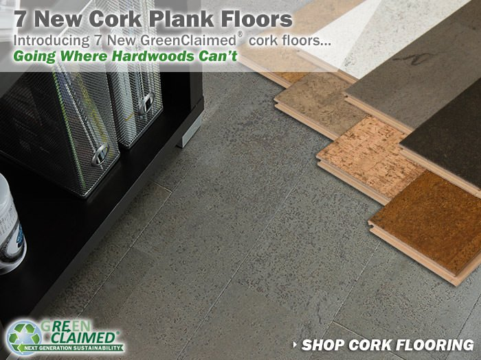 Greenclaimed cork flooring going where hardwoods can 39 t for Cali bamboo cork flooring