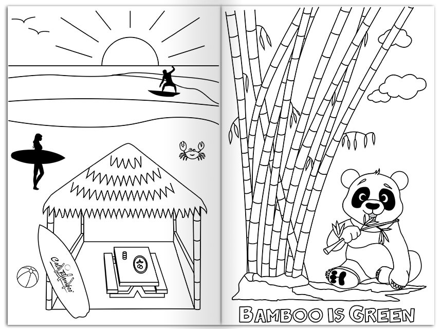 Enchanting Bamboo Coloring Pages Picture Collection - Professional ...