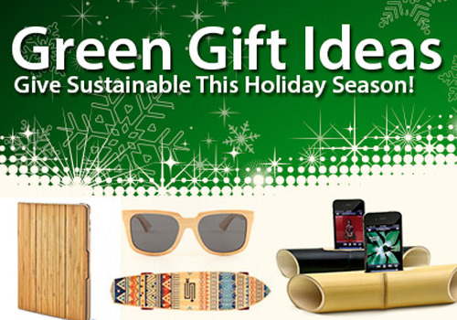 Go Green for the Holidays with Bamboo Gifts