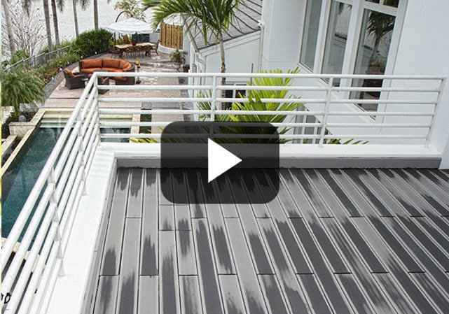 All Weather Decking: BamDeck® in Boca Raton, Florida