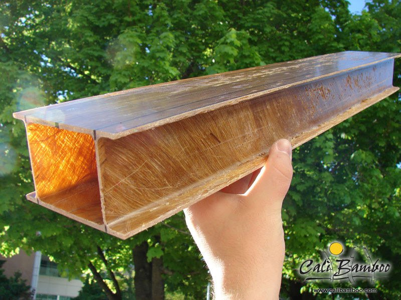Beam Bridge Construction Materials : Byu engineering student develops bamboo fiber composite