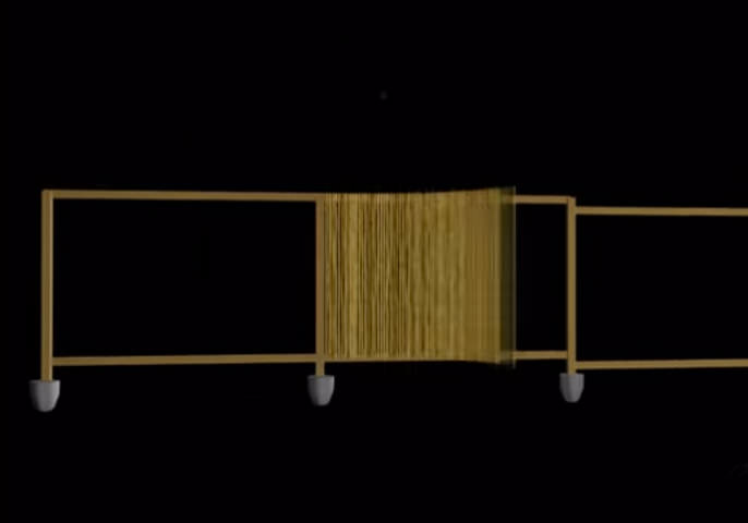 Bamboo Fencing Animation