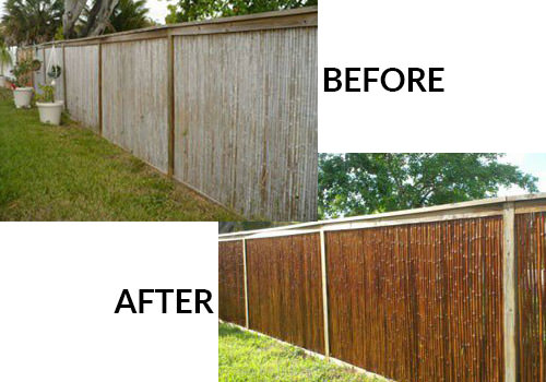 Bamboo Stain Sealer And Protectant For Fencing Amp Poles