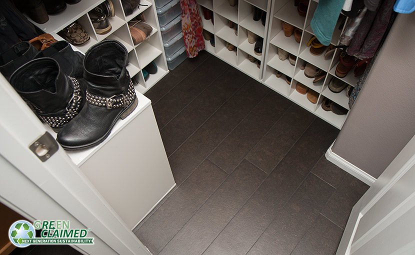 Cork Flooring in a closet