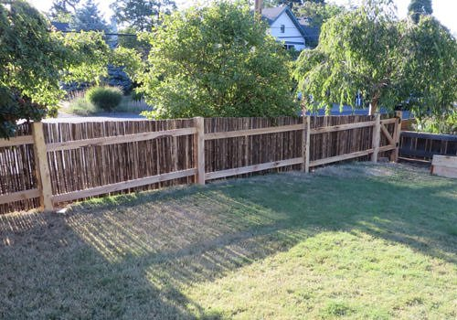 Bamboo Fencing in Oregon