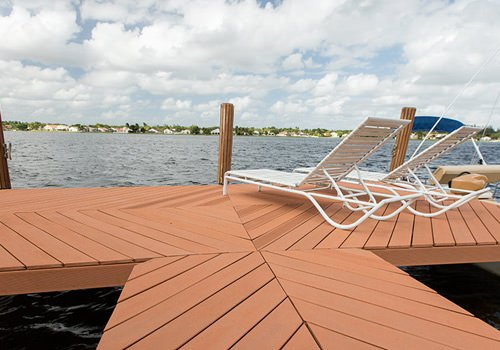 Diamond Dock Deck Design