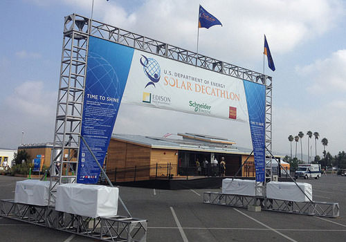 Cali Bamboo at the 2015 Solar Decathlon