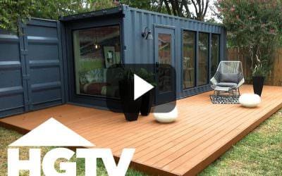 HGTV Container Home Episode uses BamDeck® Composite
