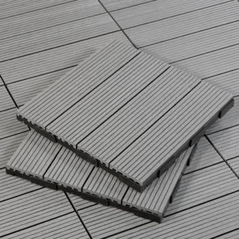 Shop Slate Outdoor Deck Tiles
