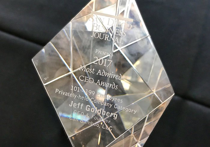 Jeff Goldberg Awarded SDBJ Most Admired CEO 2017