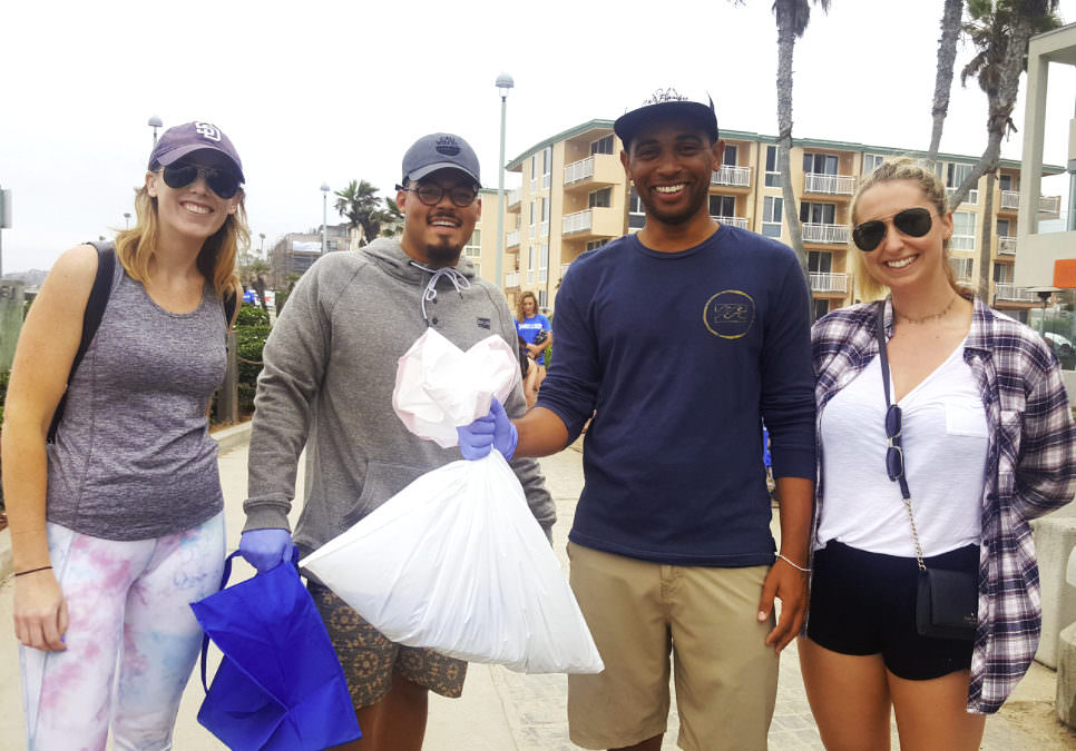 Team Cali Pacific Beach Cleanup