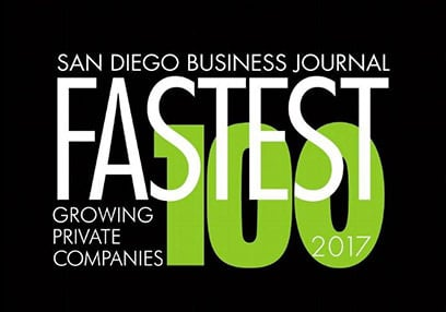 2017 fastest growing companies list