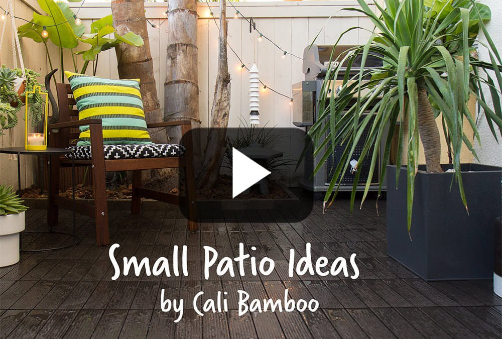 Small Patio Ideas  (Discontinued)