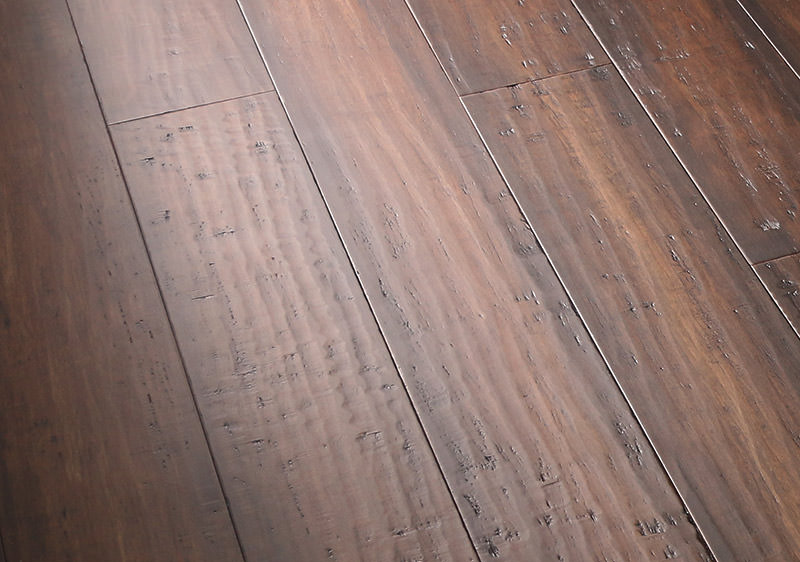 Distressed Hardwood Flooring A Visual Explanation Cali