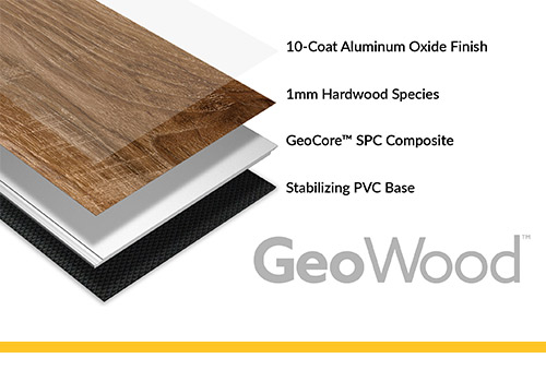 Introducing GeoWood, the Rock Solid Wood Floor