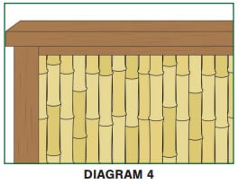 Easy Fencing How To Build A Bamboo Fence