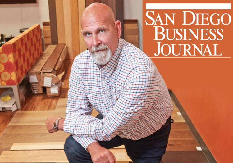 Cali Bamboo's Success Featured in SDBJ
