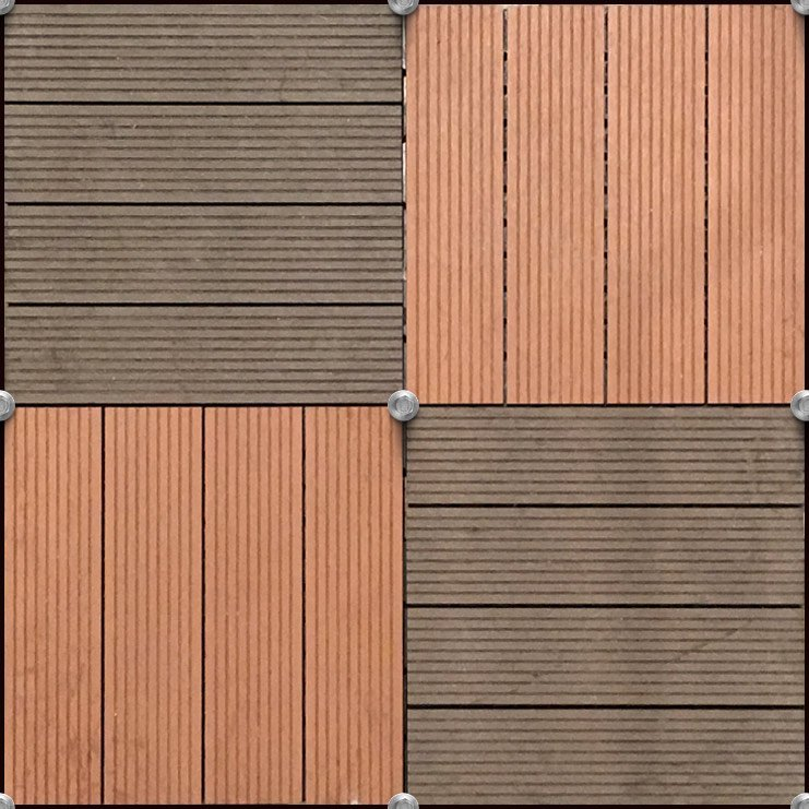 wall mounted deck tiles