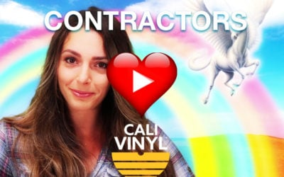 Why Contractors ❤️ Cali Vinyl Pro