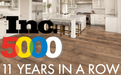 Cali Bamboo Marks 11th Consecutive Year on Inc. 5000 Fastest Growing Companies List