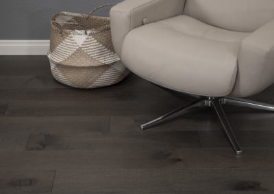 Delphi wide flooring with chair