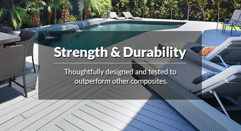 Composite Decking - 100% Recycled Decking Material