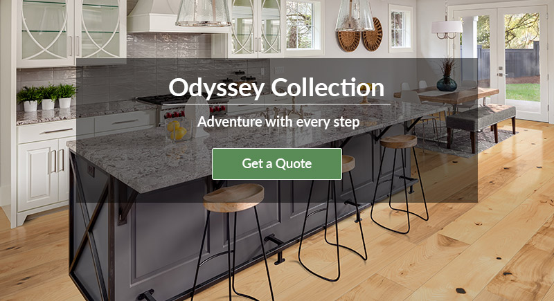 Cali Hardwoods Odyssey Collection