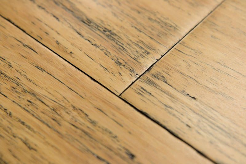 Distressed Hardwood Bamboo Flooring Aged To Perfection