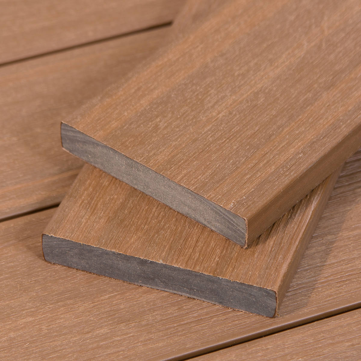 Grey wood decking tahoe composite cali bamboo for Composite timber decking