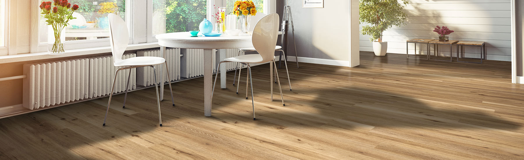 Vinyl Planks Aged Hickory Wide Click Flooring Cali Bamboo