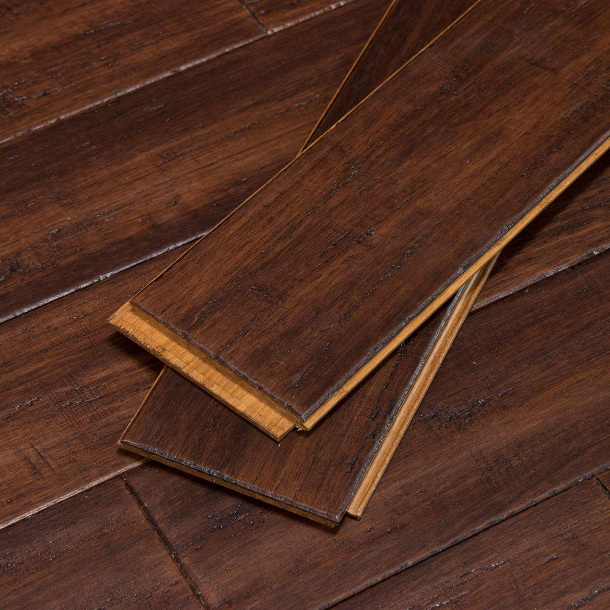 Bordeaux Fossilized Click Bamboo Flooring Cali Bamboo