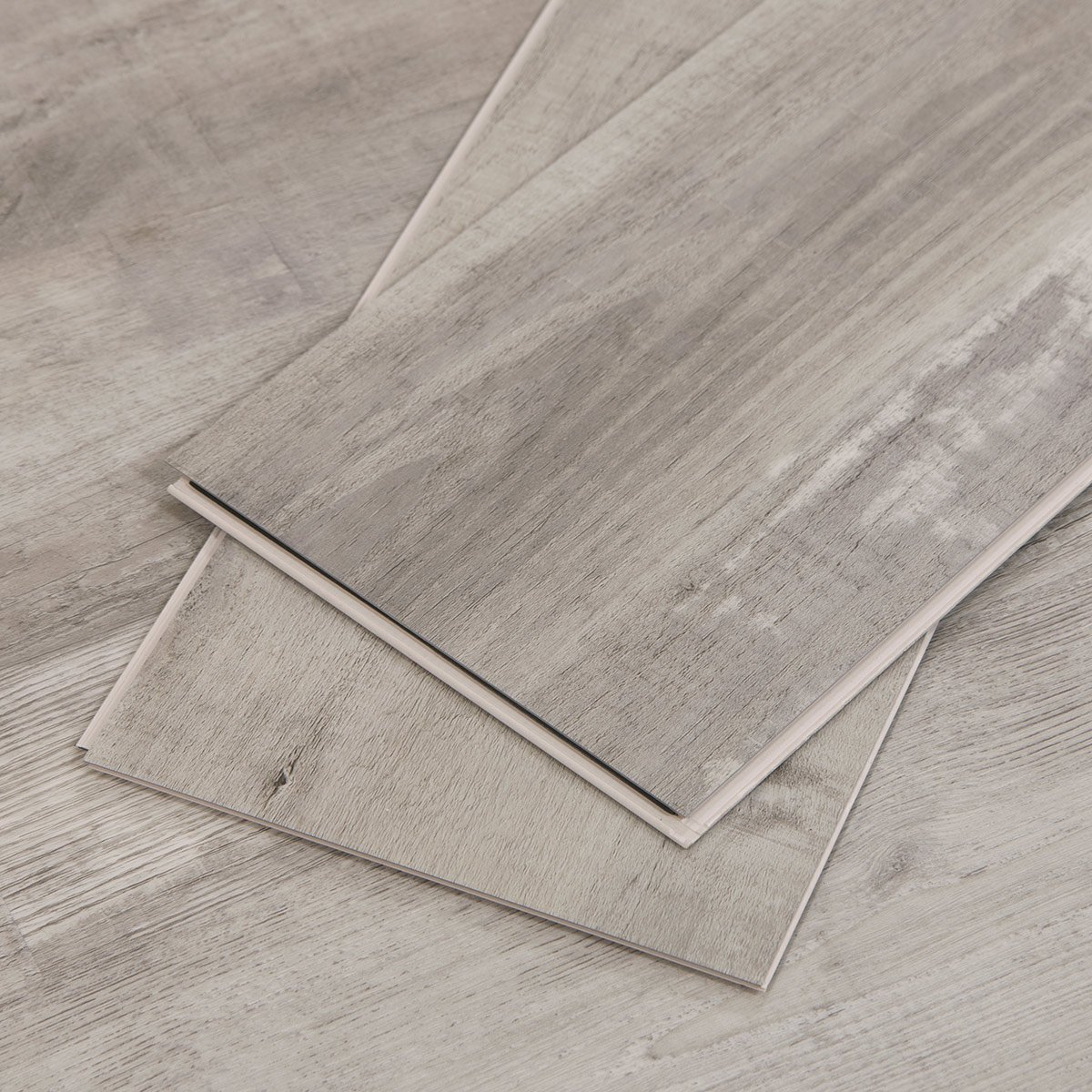 Gray Ash Wood Look Vinyl Flooring