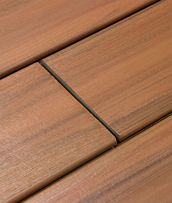 Sample - Bronze Grooved Edge GreenClaimed® Composite Decking