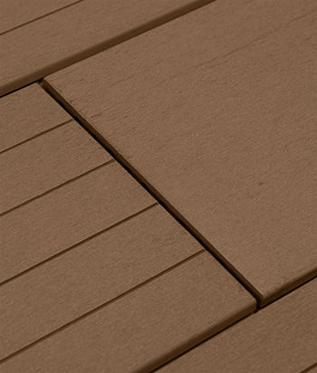 Sample - Coffee BamDeck® 3G Wide Composite Decking