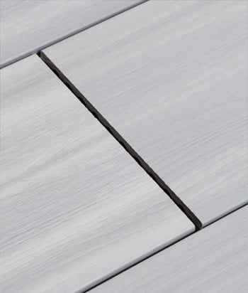 Sample - Glacier TruOrganics® 3G Wide Composite Decking