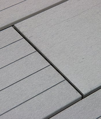 Sample - Slate BamDeck® 3G Wide Composite Decking