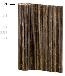 Bamboo Fencing Privacy Fence Panel Rolls 7 Year