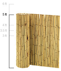 1 in. Natural 5ft. x 8ft.