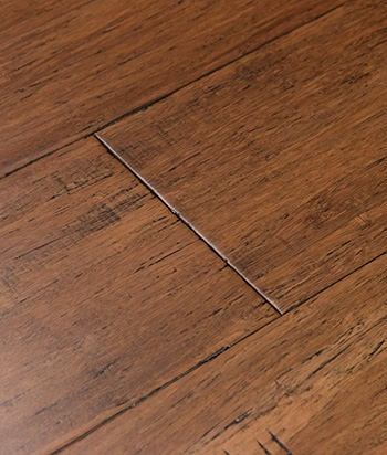 Sample antique java fossilized bamboo flooring for Bamboo hardwood flooring