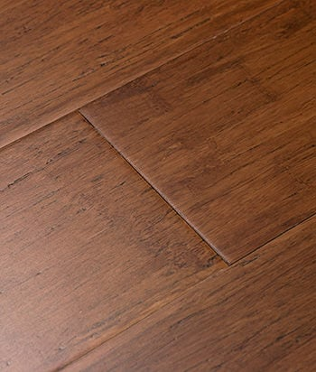 Sample - Distressed Java Fossilized® Wide Click Bamboo Flooring