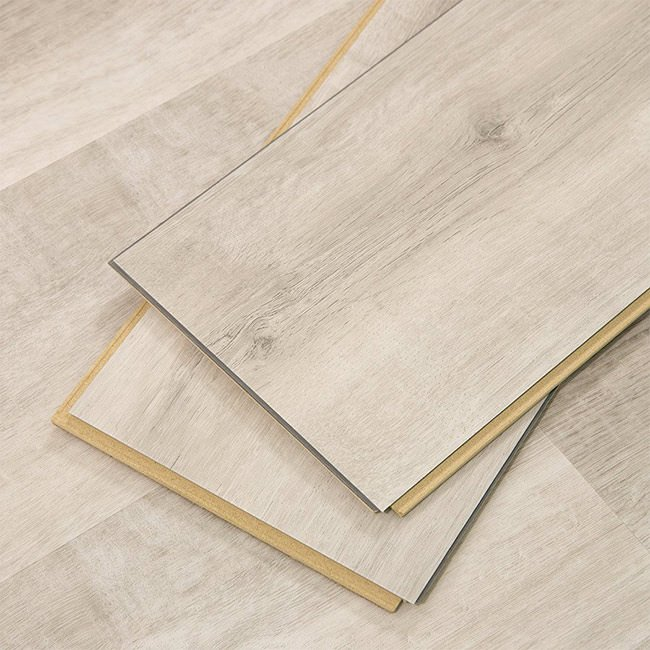 Luxury Vinyl Flooring White Aspen Wide Click Cali Bamboo