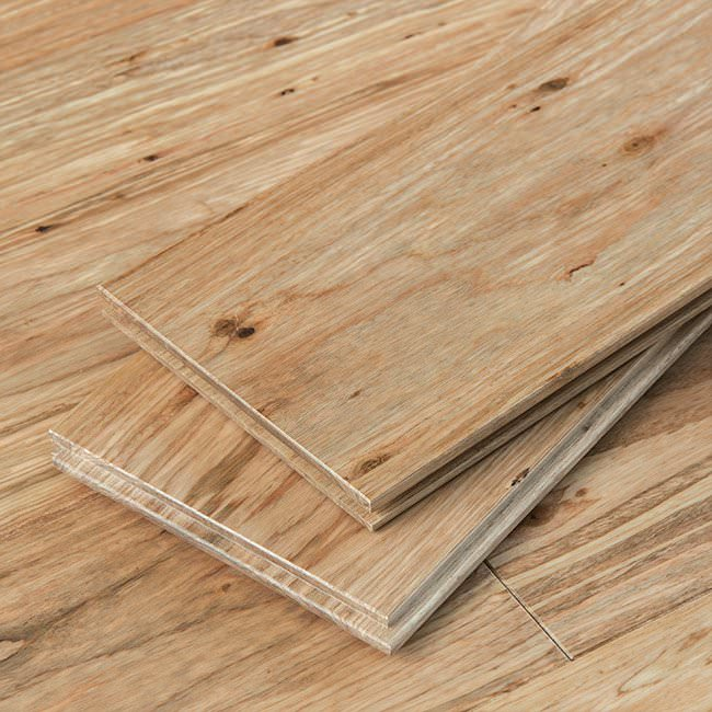 Natural Fossilized Wide T G Eucalyptus Flooring