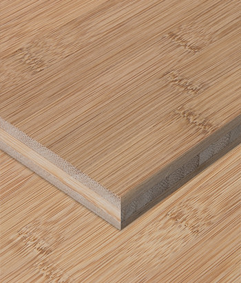 Sample - Bamboo Plywood - 3ply 1/2 in. Horizontal Carbonized