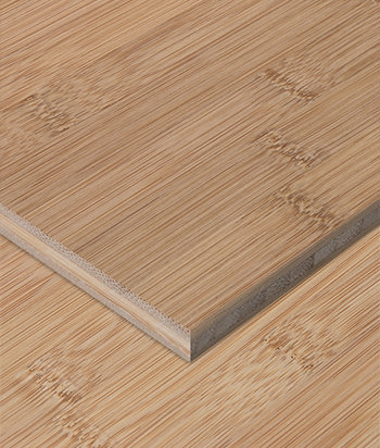 Sample - Bamboo Plywood - 3ply 1/4 in. Horizontal Carbonized