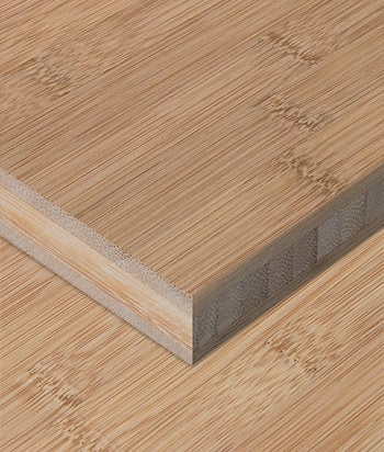 Sample - Bamboo Plywood - 3ply 3/4 in. Horizontal Carbonized